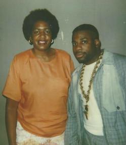 Sharon Williams and Jason Mizell (Jam Master Jay)