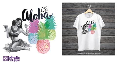 Joss – Aloha: Proposta de Estampa