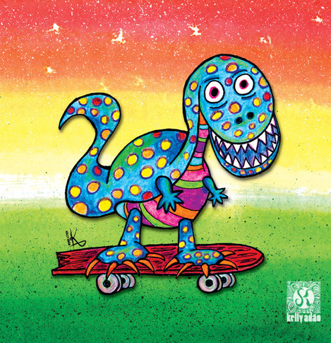 Jurassic Skater