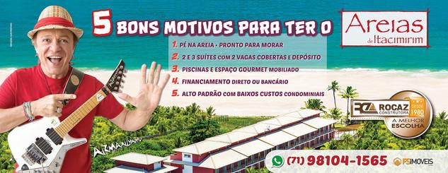 Rocaz – Campanha Areias de Itacimirim Bahia