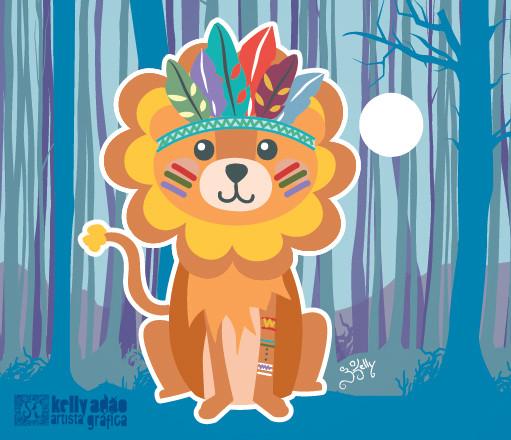 Leão Tribal
