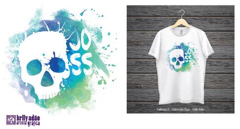 Joss – Skull: Proposta de Estampa