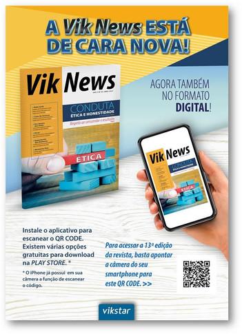 Campanha Revista Vik News | Vikstar