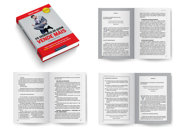 Diagramação Livro: Os segredos de quem vende mais