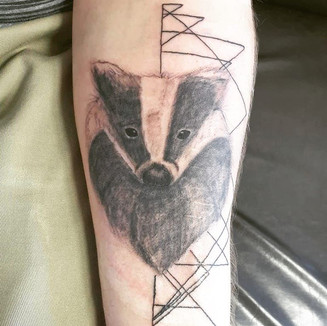 tetování zvíře