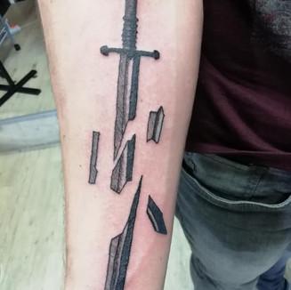 tetování pán prstenů