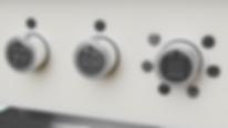 FeelwareP Symbolträger mit takitlen Symbolen installiert auf versenkbaren Drehköpfen