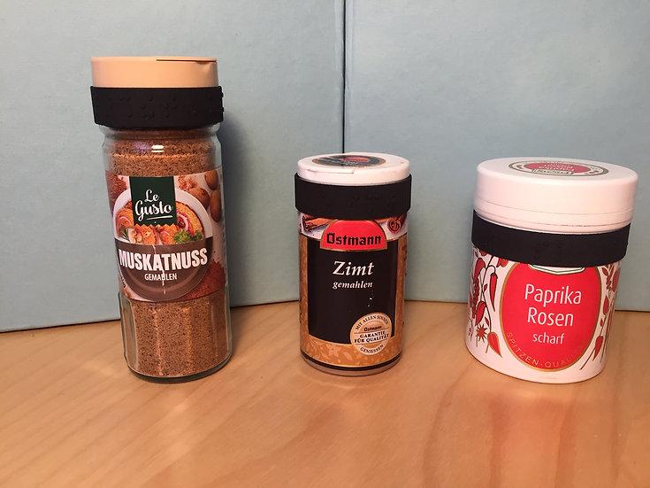 Feelware Spices - Beschriftungen für Gewürzdosen