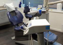 Stuhl im Behandlungszimmer 4