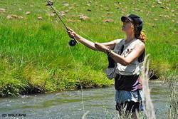 TEACHING TEENAGERS TO FISH