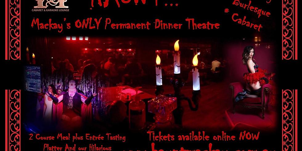 Haunt Dinner Theatre Saturday 14th March 2020