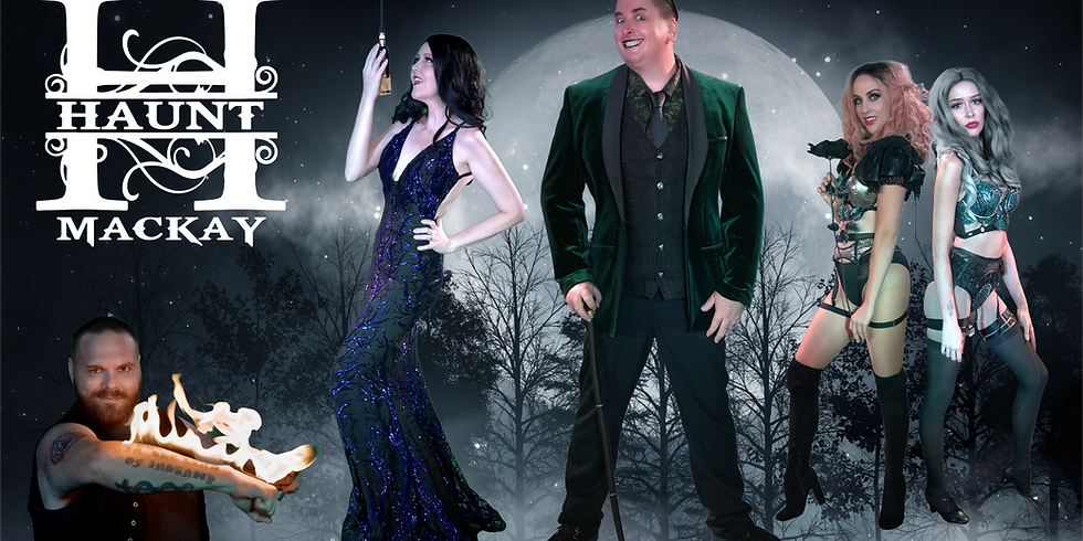 Haunt Dinner Theatre Friday 14th May 2021