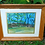 """Thumbnail: Pennypack Park & Cathedral 16""""x 13"""" Watercolor Painting"""