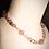 "Thumbnail: Cherry Quartz Twists & Rounds Gemstones 16"" Choker"