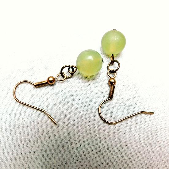 Various Green Gemstones Dangles Earrings Pairs