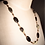 "Thumbnail: Yellow & Black Turquoise Gemstones 21"" Necklace"