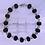"""Thumbnail: Black Jasper Gemstones 10"""" Ankle Bracelet"""