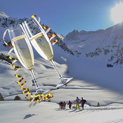 Cap d'any 2021: 2 dies de raquetes de neu per Andorra