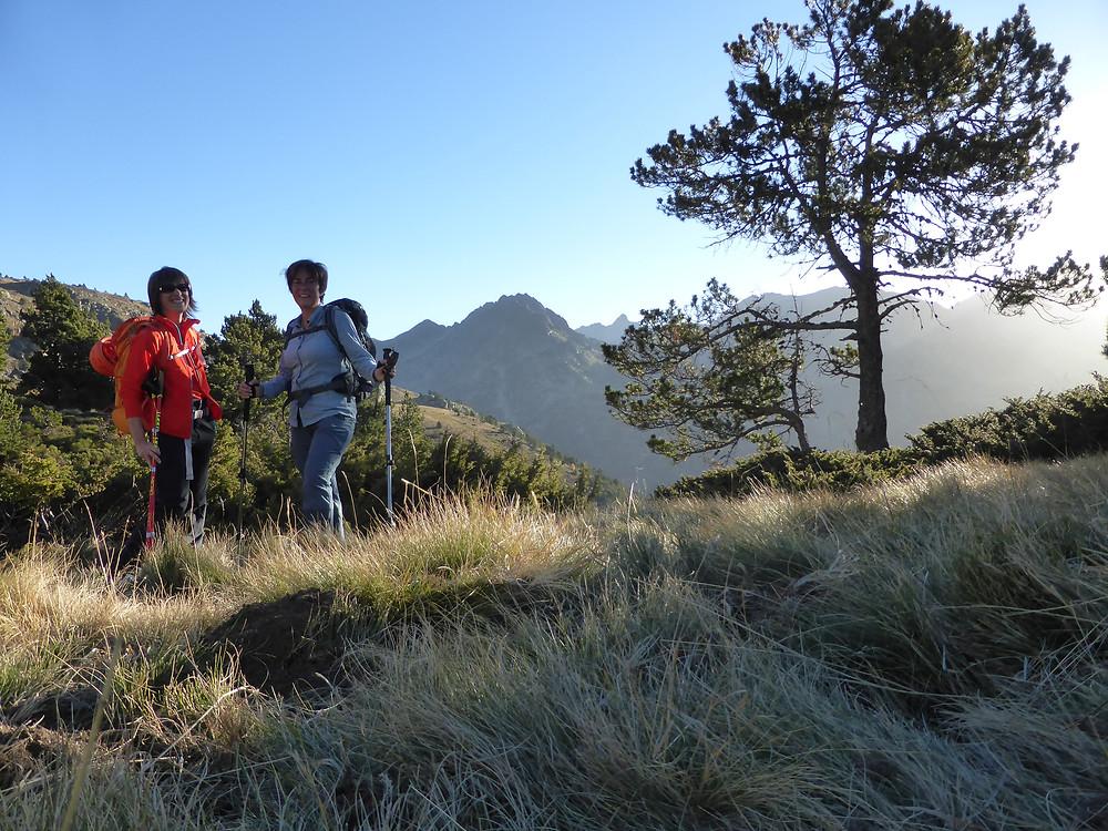 Pujant pel camí normal de Cabana Sorda des de la Vall d'Incles