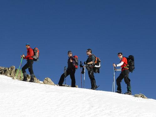 8 i 9 de febrer 2020: raquetes de neu amb guia en Andorra, Incles i Pessons