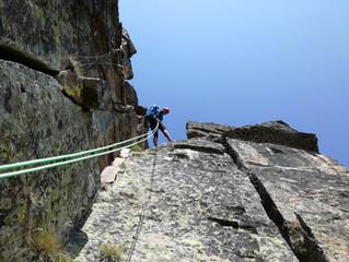 Escalada al Cilindre i Pic d'Escobes