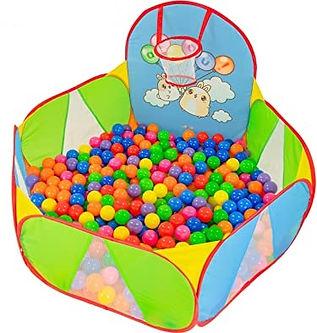 NUBUNI Ball Pit for Baby : Playpen ball Pool : Playhouse : Ball Pit Balls : Playpen Baby Play House for Kids : Play Tent for Kids Pool Balls : Baby Ball Pit