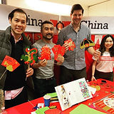 Thanks _allenstevenson for letting us help out at the China table for their world culture