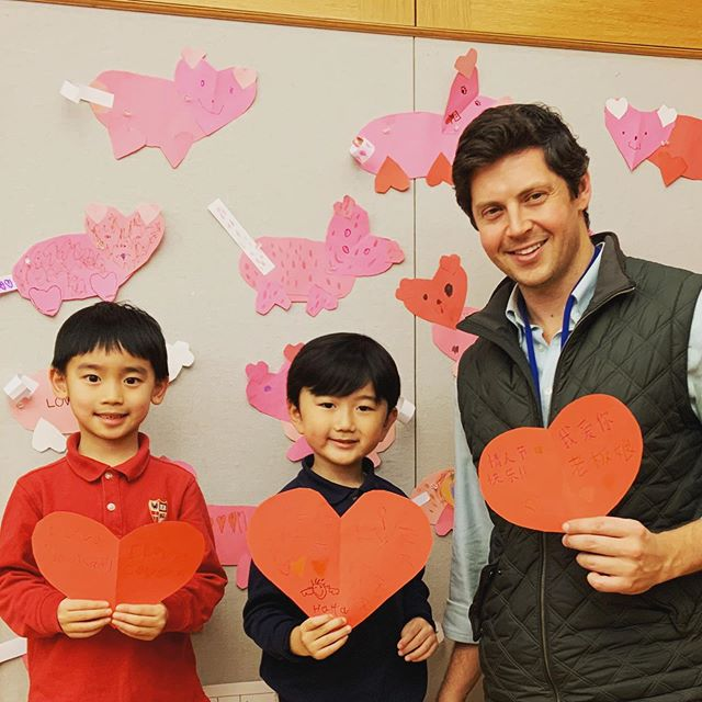 Happy Valentine's Day! 情人节快乐!Our K after