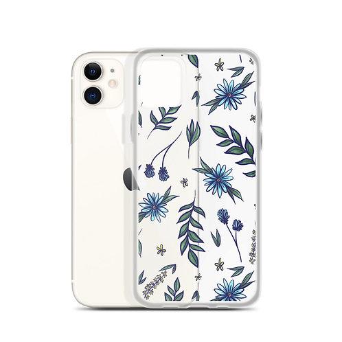 CH flower pattern IPhone Case