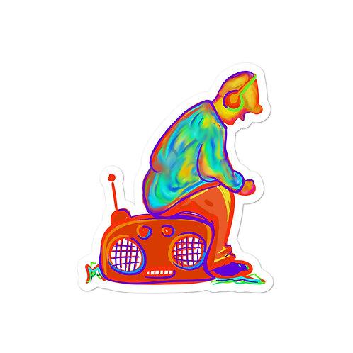 Music Man Sticker