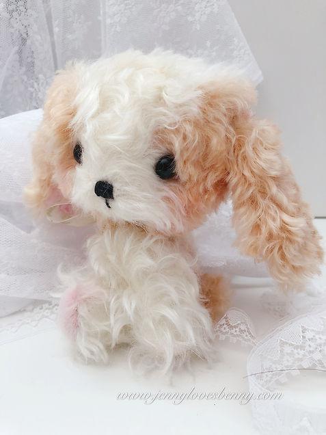 cavalier puppy plush ooak