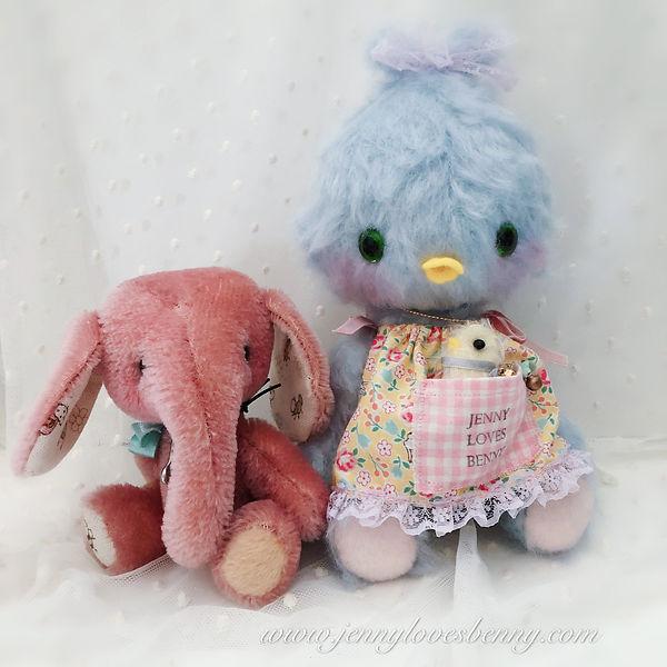 elephant and Chickadee