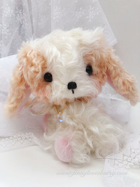 kings charles cavalier plush