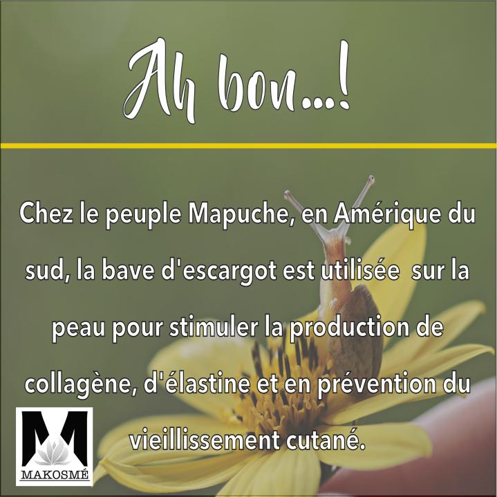 Massage escargot - Makosmé