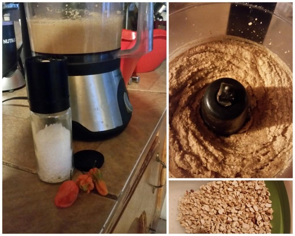 Making Mamba (peanut butter)
