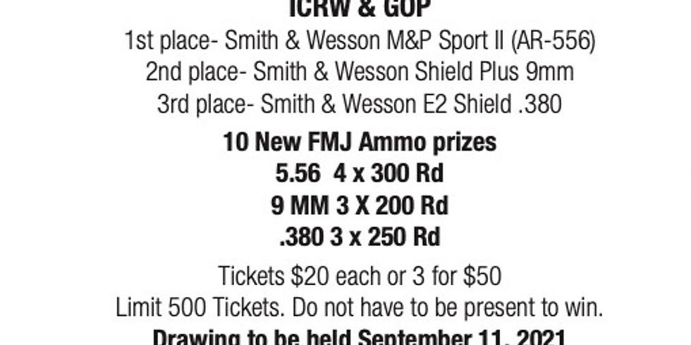 ICRW/ICGOP Gun Raffle