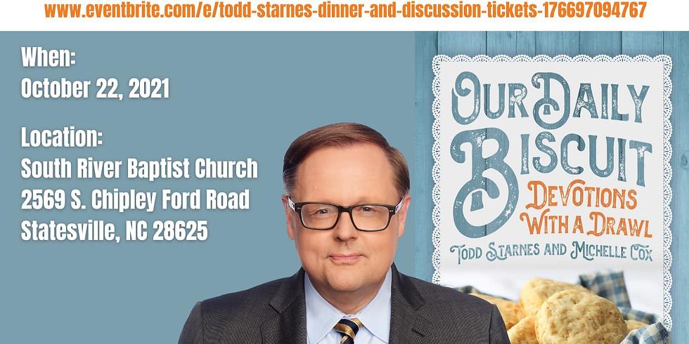 Todd Starnes Dinner & Discussion