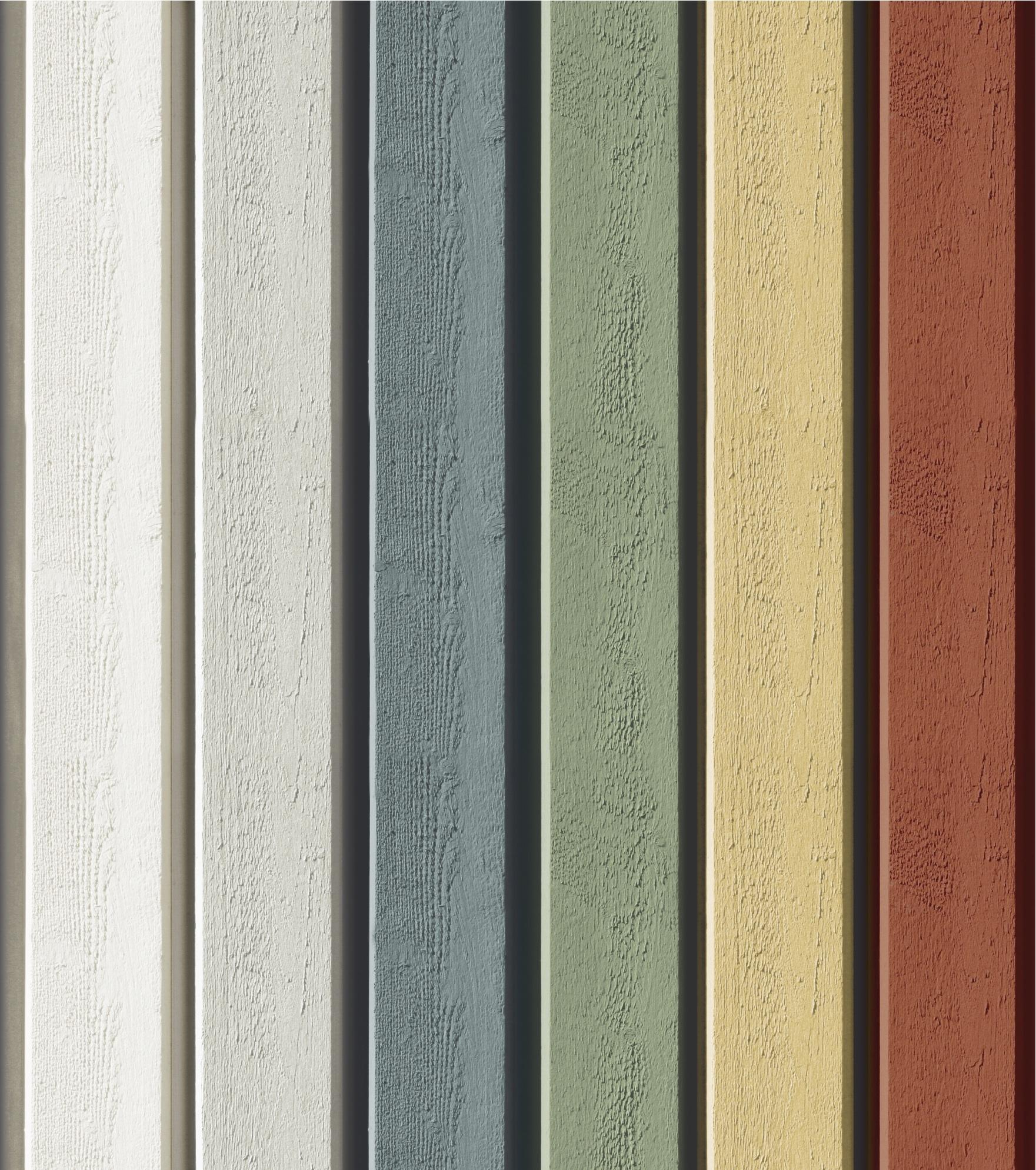 Dekkende pastel kleuren