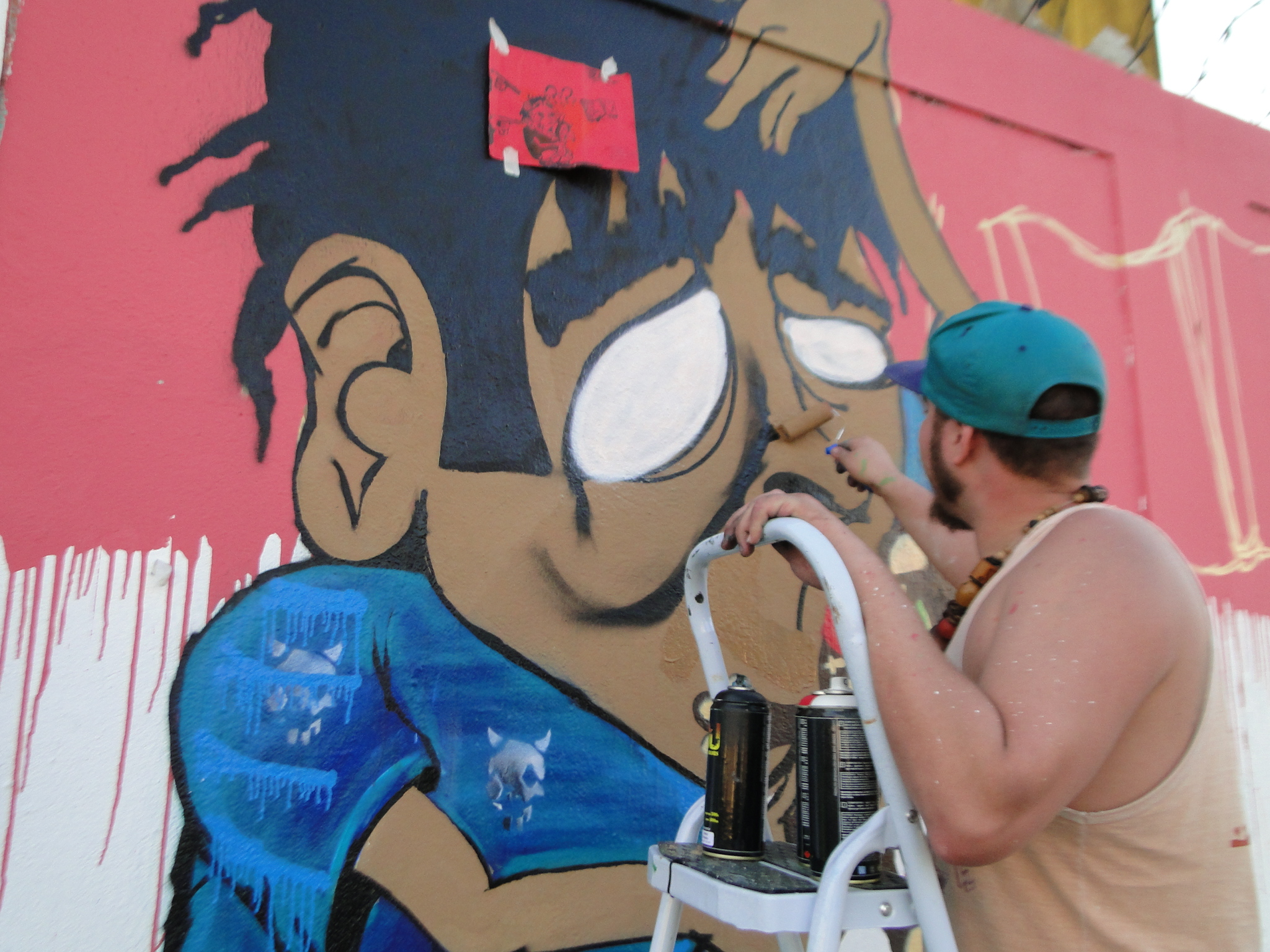 Guarulhos - Pintura dos Muros - Pimentas (78)