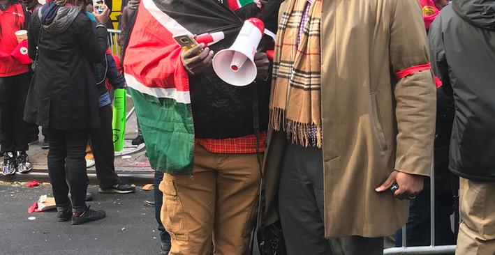 Protest Against Slavery In Libya
