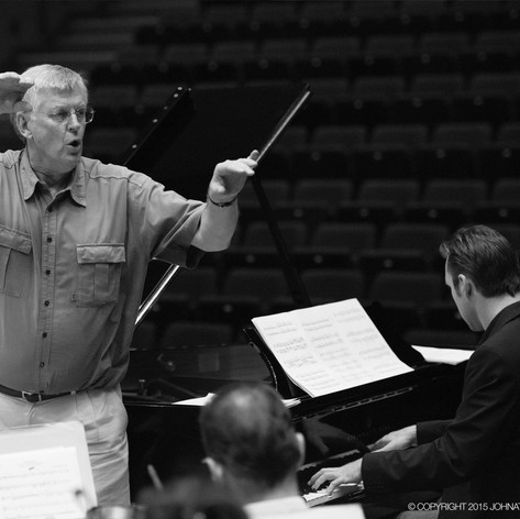 Richard conducting at JIMF