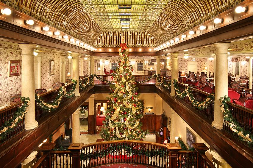 Victorian Hotel Christmas Tree