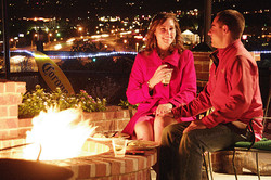 Guy & Gal & Fire & Lifestyle