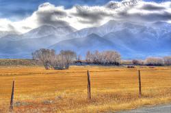 Misty Mtns, Golden Fields & Snow