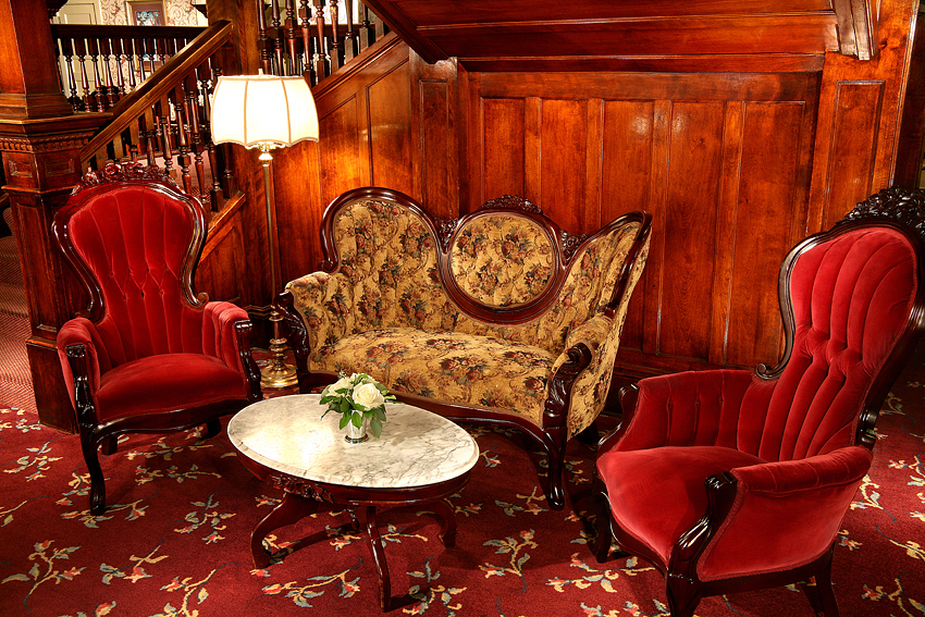 Victorian Hotel Vignette