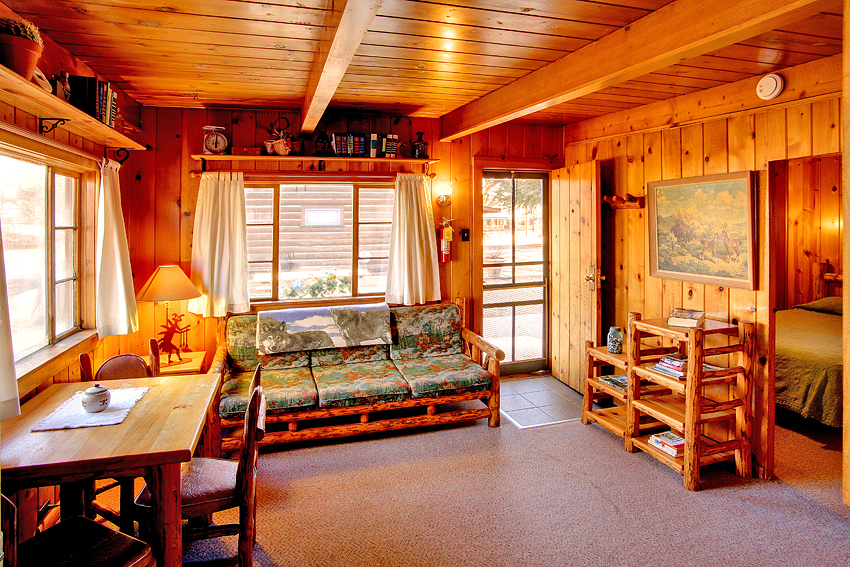 Bed and Breakfast Cabin Interior