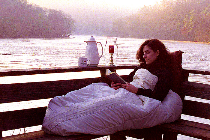River Sunrise Reading