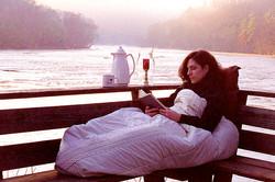River Sunrise Reading