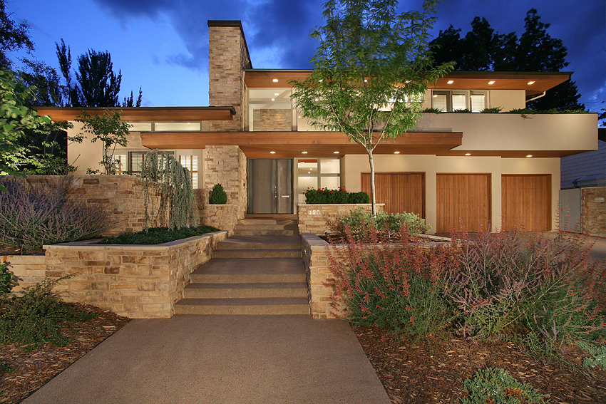 Lloyd Wright Inspired Home, Denver