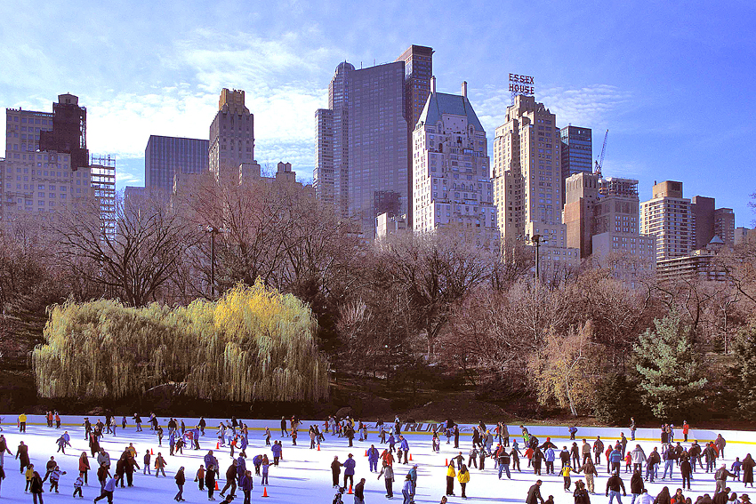 New York City Skating Rink